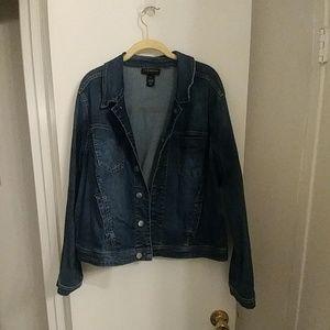 Lane Bryant Blue Jean Jacket